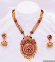 Buy Design no. 10b.2270....Rs. 11000. necklace-set online