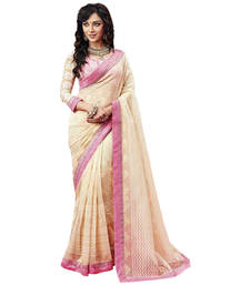 Buy Radhika Brasso Saree With Designer Unstiched Blouse brasso-saree online