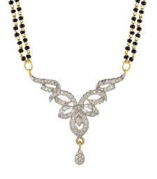 Buy White american_diamonds mangalsutra mangalsutra online