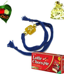 Buy Budget Rakhi Chocolate pack rakhi-with-chocolate online