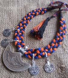 Buy Ethnic thread mala Necklace online
