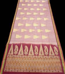 100% Handloom Saree - South Indian Traditional Ethnic Cotton Sari - riyaa shop online