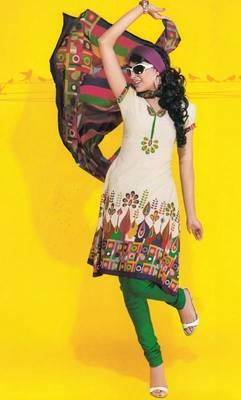 Dress material cotton designer prints unstitched salwar kameez suit d.no 1715