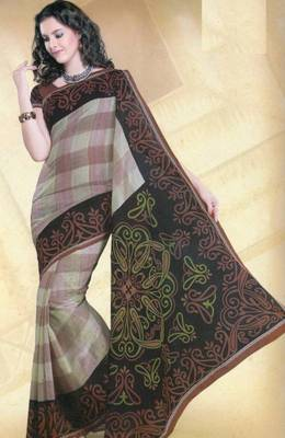 Elegant mal mal cotton saree with blouse piece d.no pw123