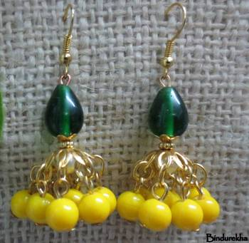 Yellow_Green_Golden_Jhumka