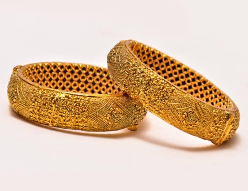 Buy Antique Real Gold Design Bangles Online