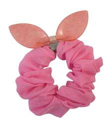 Buy Plain Pink Fabric Hair Rubber Band for Women Other online