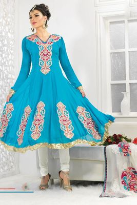 Party Wear Dress Material Fairy1102