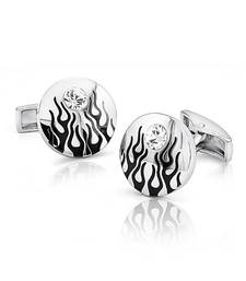 Buy Mahi Fiery Liana Cufflinks with Swarovski Elements gifts-for-husband online