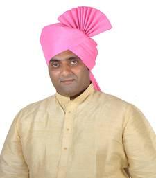 Buy Plain Kolhapuri Pheta Turban men-festive-wear online