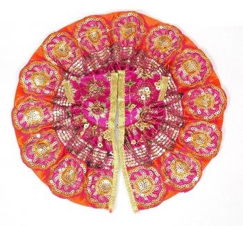 9'' Bright Pink Holy Chakra Poshak