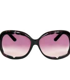 Buy 1220 MAROON Rectangular Sunglasses sunglass online