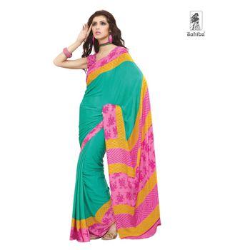 Party Wear Sari Kaju4734