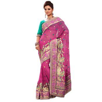 Elegant Designer Sari 9046D