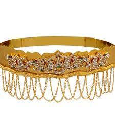Buy AD Ruby Green american_diamonds waist-belt waist-belt online