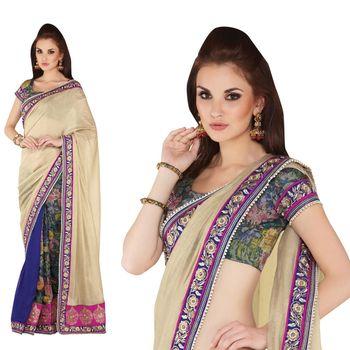 Elegant Designer Sari Gap1506