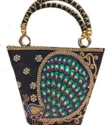 Buy black colour hand bag Other online