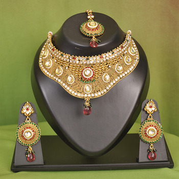 Bollywood Bridal Necklace Set