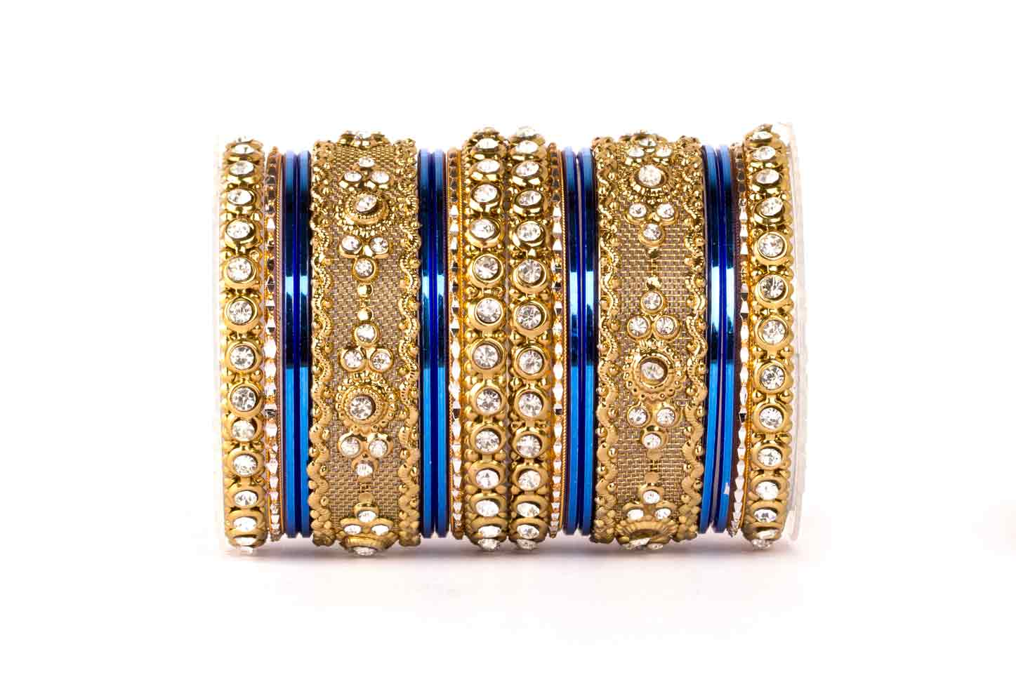 ladies round big out bangle hollow bracelet rhinestone indian bangles plated women product gold