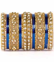 Buy Intricate two hand bangle set bangles-and-bracelet online