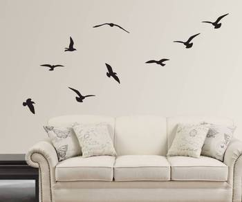 Flying Birds Silhouette