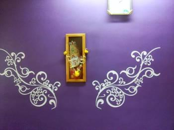 Modern artistic wall decal
