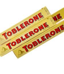 Buy Swiss Toblerone Chocolate Bars 200 Gm Gift Box Diwali Gift 115 diwali-chocolate online