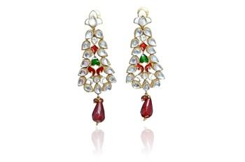 Hot indian Fashion elegant Crystal Rhineston Earrings