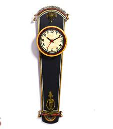 Buy Diwali Gifts Amazing Wall Clock with Artificial Bell Motif diwali-gift-hampers-idea online