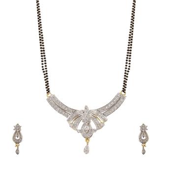 American diamond Mangal Sutra