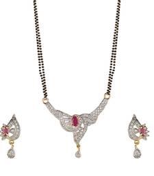 Buy American diamond Mangal Sutra mangalsutra online