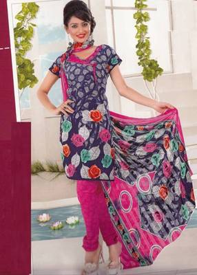 Dress material crepe designer prints unstitched salwar kameez suit d.no AP818