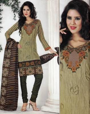 Dress material cotton designer prints unstitched salwar kameez suit d.no 1211