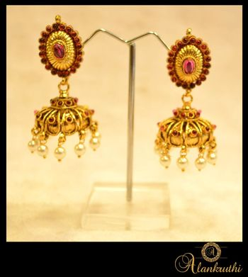 New Temple Jewellery - Jhumka 2