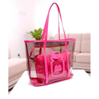 Craftstages Red Transparent Useful Bag Online