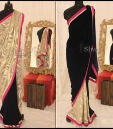 Buy Two sided Saree velvet-saree online
