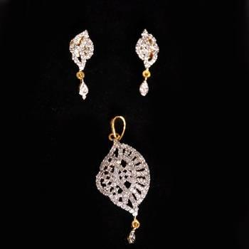 Fancy American  Diamond  Pendant