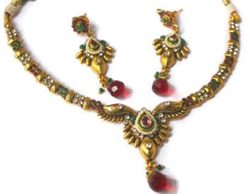 South Indian style necklace set