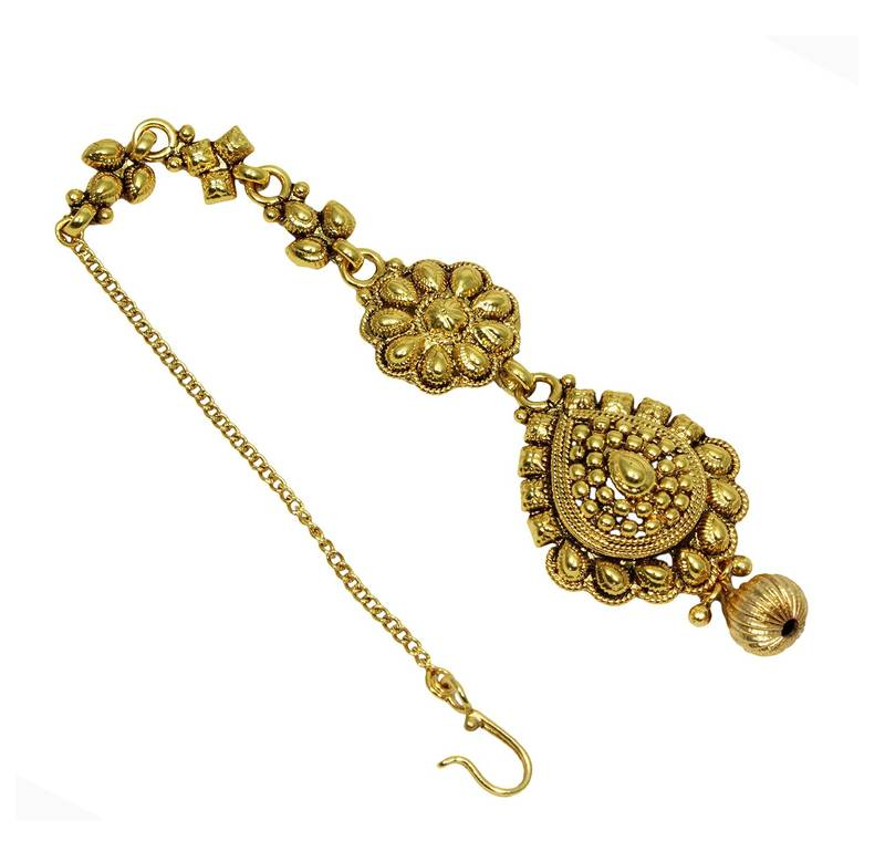 Buy Traditional & Antique Gold Plated Party Wear Maang
