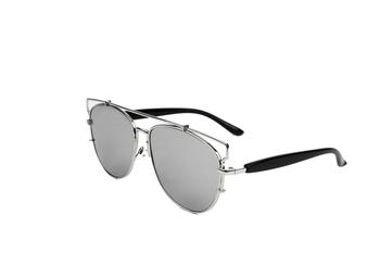 Double Bridge Mirror Sunglasses