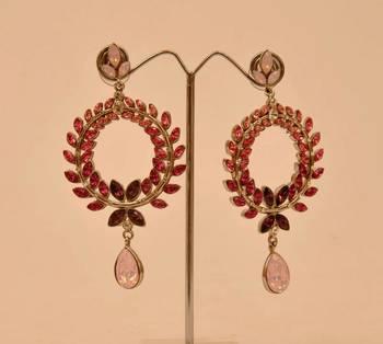 Shaded Stone Earrings