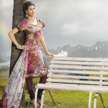 Elegant Cotton Dress Material Unstiched Salwar Kameez Suit D.NO. PB10024