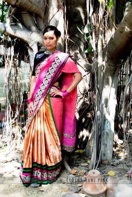 Velvet sarees
