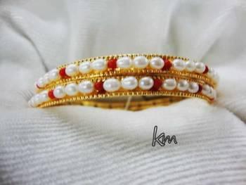Pearl Designer Bangle