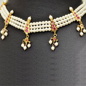 Buy Maharashtrian Traditional Pearl Necklace Online
