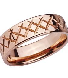 Buy Stainless Steel Rose Criss Cross Ring for Men gifts-for-boyfriend online