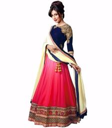 Buy Traditional Designer Partywear lehenga with Blouse Piece lehenga-choli online