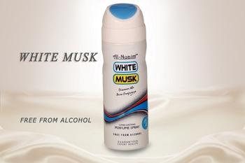 AL NUAIM WHITE MUSK 200ML PERFUME Deodorant