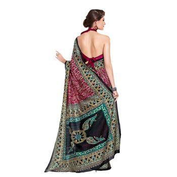 Hypnotex Bhagalpuri Multi Color Color Designer Saree Fig2321A