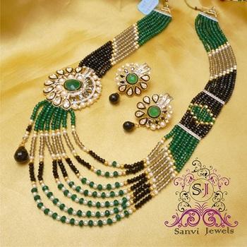 American Diamond Maala Necklace